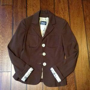 Vintage Dolce and Gabbana jacket